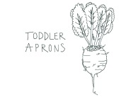 little roots toddler aprons 1