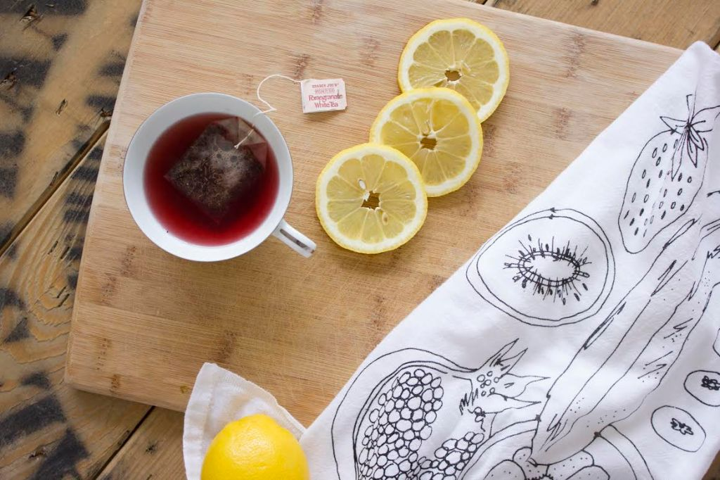 fruit tea towel 2